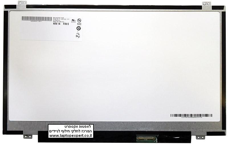 החלפת מסך למחשב נייד B140RW02 B140RW02 V.0 N140FGE-L31 1600X900 Laptop LED Screen