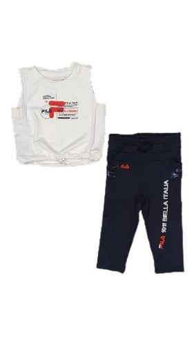 חליפת ספורט כחול לבן (4-16)