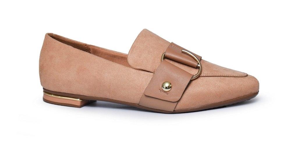 נעלי מוקסין שטוחות ונוחות לנשים VIZZANO דגם - 1345-111