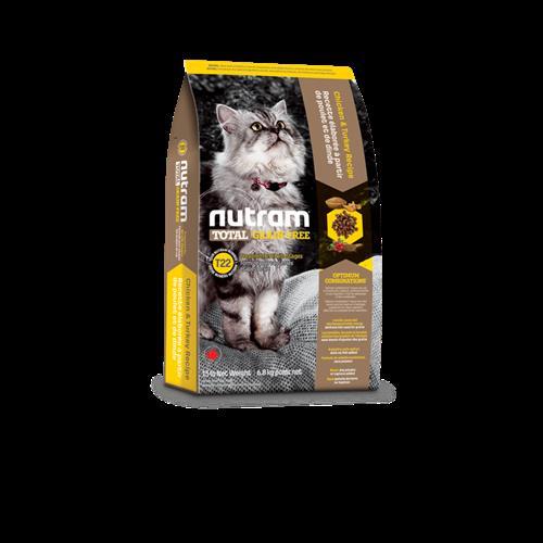 נוטרם טוטאל לחתול ללא דגנים עוף והודו T22 6.8kg
