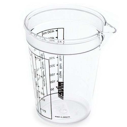 כד מידה אקרילי 0.45 ליטר
