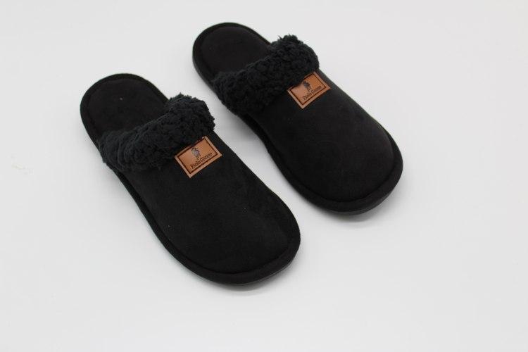 נעלי בית חורפיות נוער שחור