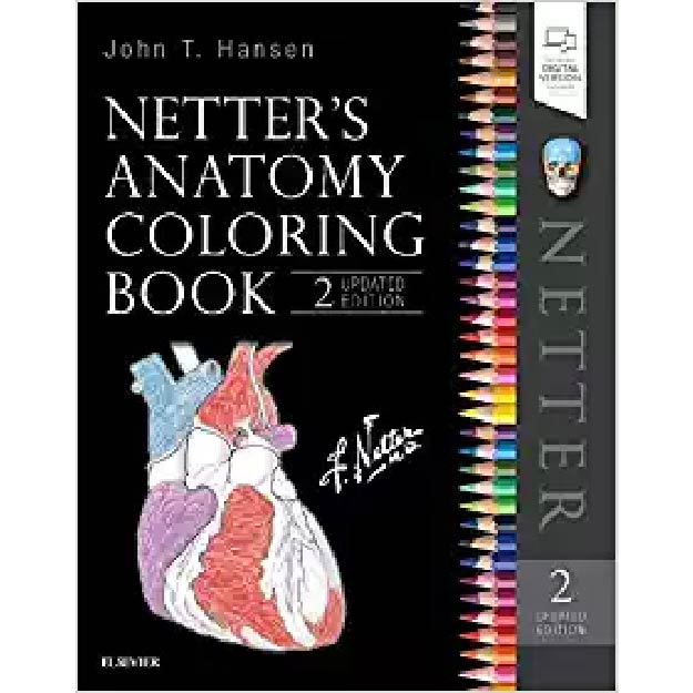 Netter´s Anatomy Coloring Book