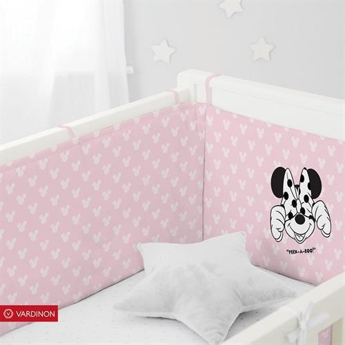 מגן ראש למיטת תינוק  דגם מיני מאוס מבית ורדינון
