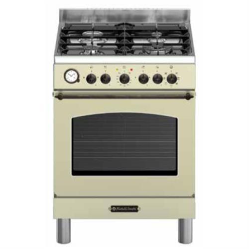 תנור משולב כיריים P707-60 FRATELLIקרם