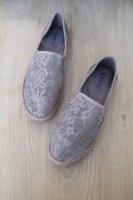 נעלי תחרה אפורות