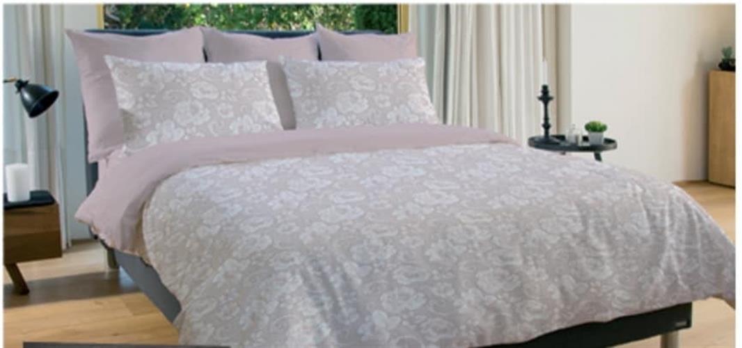 סט למיטה יהודית  100% כותנה של ורדינון דגם פיינק רוז