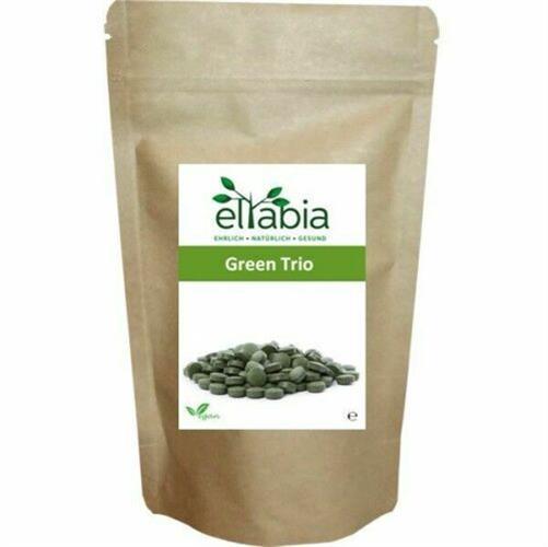 טבליות דשא שעורה ירוקה ,כלורלה וספירולינה , תערובת תוצרת גרמניה מותג אלטביה