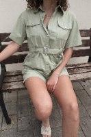 אוברול ליה ירוק