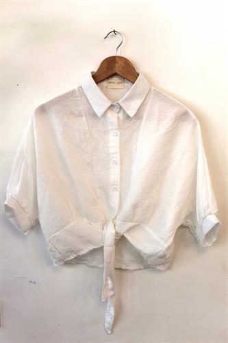 חולצת ולנסיה לבנה