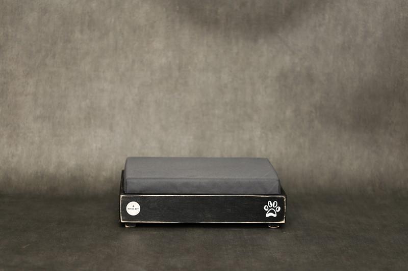 מיטה לכלב- דינה XS שחור ווש