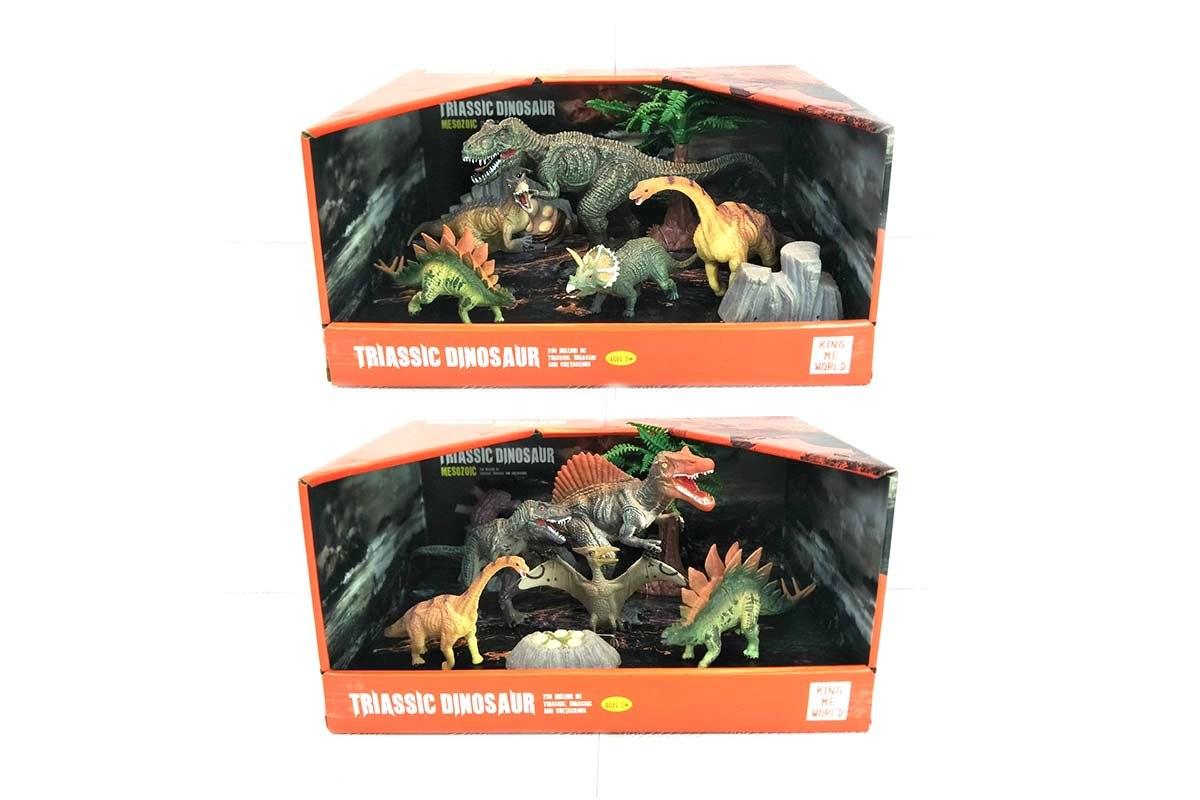 סט דינוזאורים בינוני