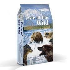 """אוכל לכלבים טסט אוף דה ווילד סלמון 2 ק""""ג ללא דגנים  - TASTE OF THE WILD ADULT SALMON"""