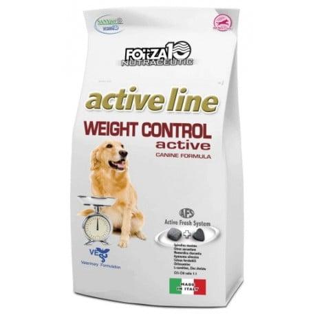 """מזון רפואי לכלבים פורזה אקטיב WEIGHT CONTROL מ 4 ק""""ג"""