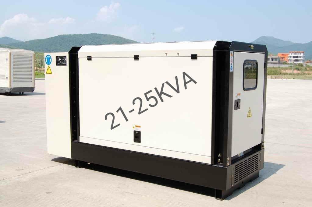 גנרטור מושתק תלת פאזי 22 KVA