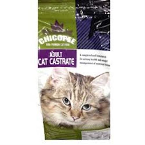 """צ'יקופי לחתולים מסורסים/מעוקרות 6 ק""""ג (3 יח' של 2 ק""""ג)"""