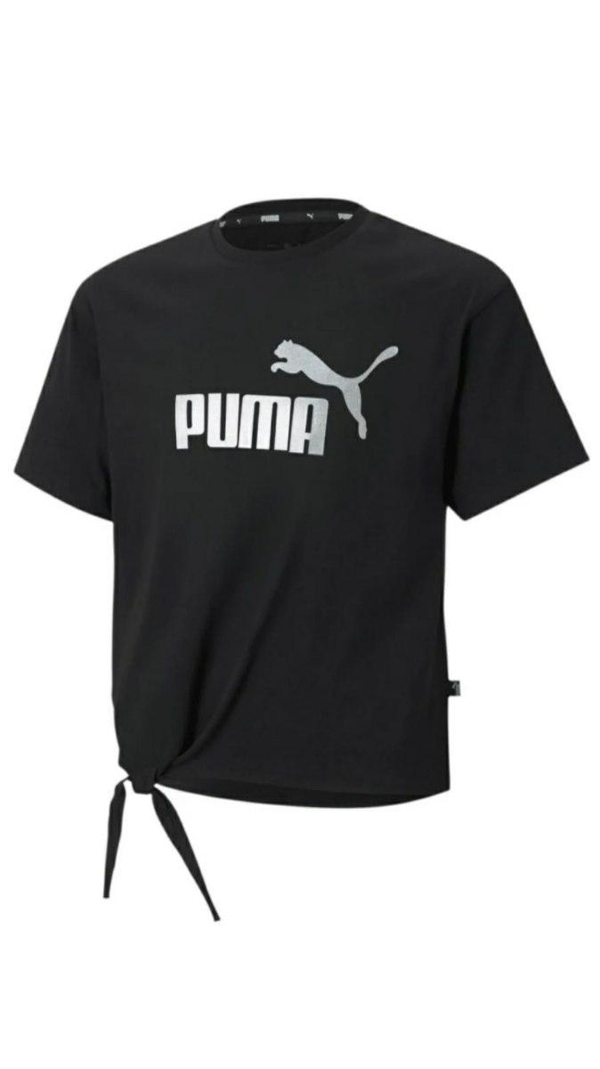 חולצת קשירה מותן שחורה PUMA