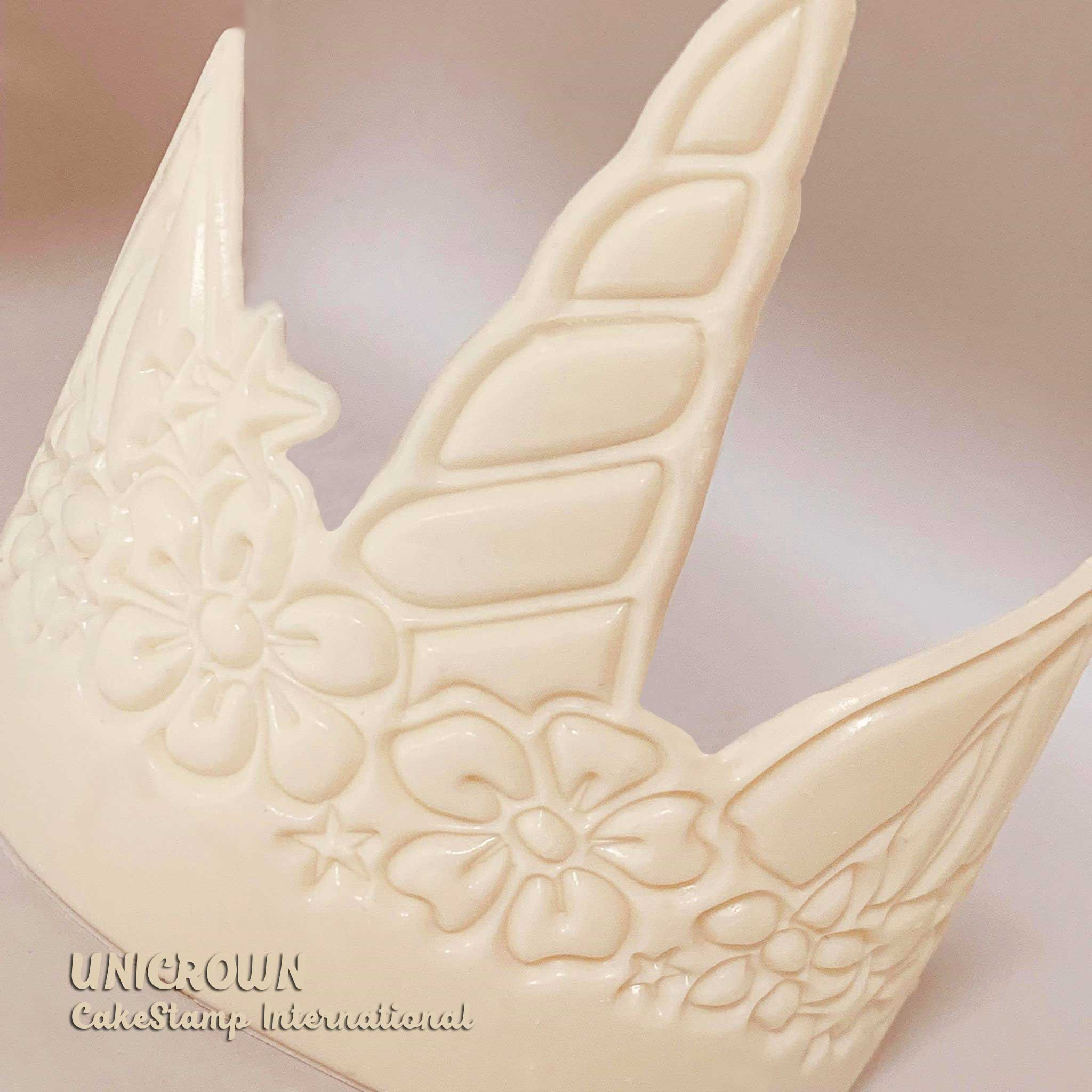 Big UNICORN Tiara Chocolate mold