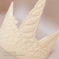 Big UNICORN Tiara Chocolate mold