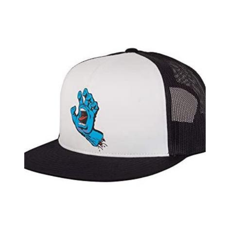 Santa Cruz Men's Screaming Hand Front Mesh High Profile Trucker Adjustable Hats