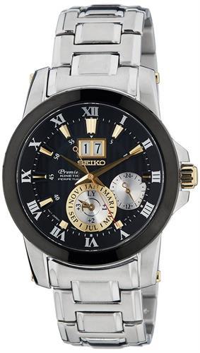 שעון יד אנלוגי סייקו גבריםSEIKO PREMIER SNP129P1