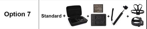 OPTION 7 - מצלמת אקשן  EKEN 4K דגם H9 מקורית! Ultra HD 4K WiFi 1080P/30fps