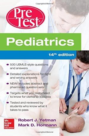 Pediatrics Pretest Self-Assessment and Review