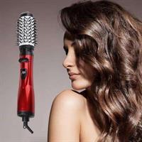 מייבש שיער+ מברשת מובנת לייבוש סלסול והחלקת השיער