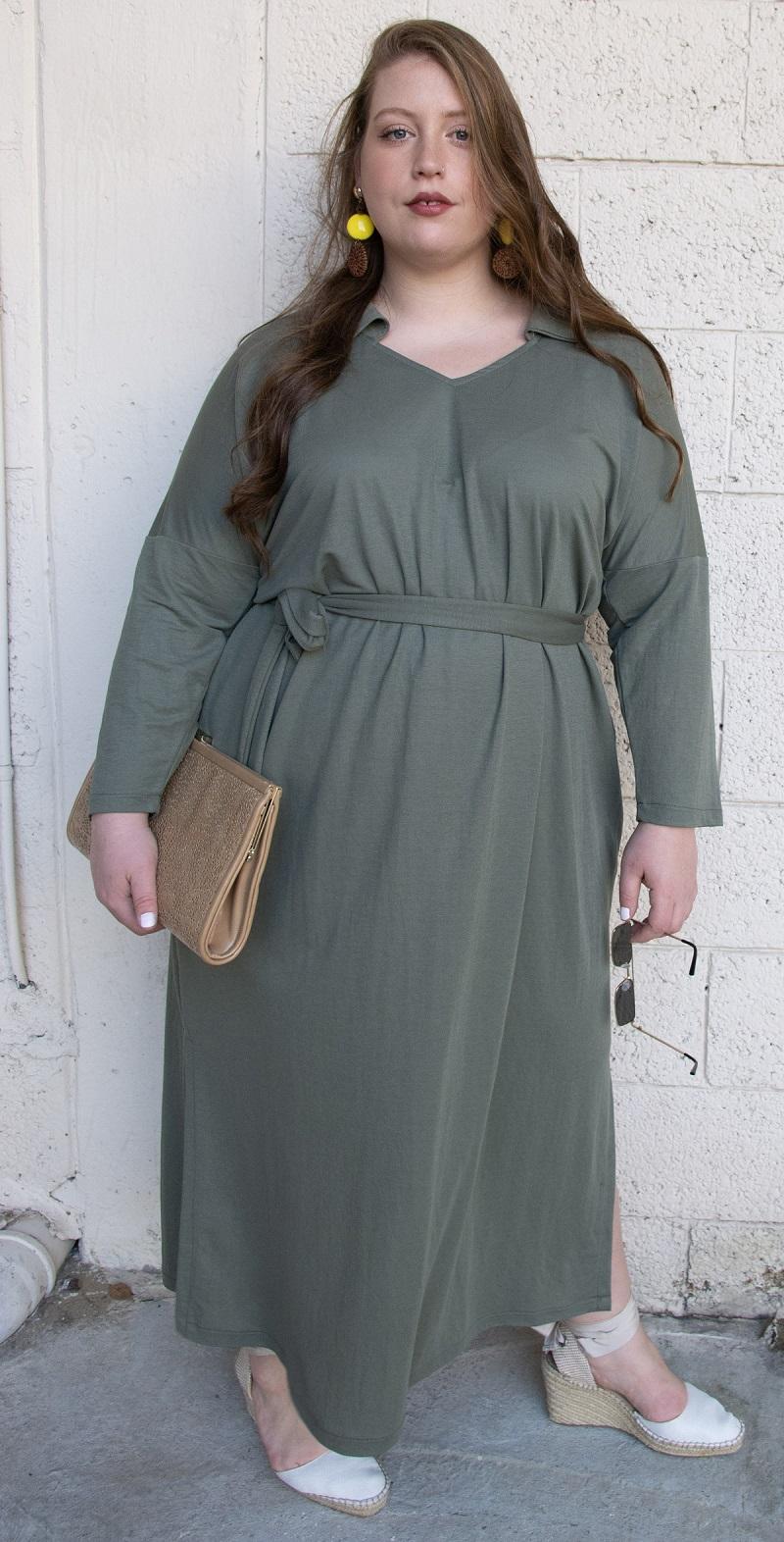 שמלת דריה ירוק