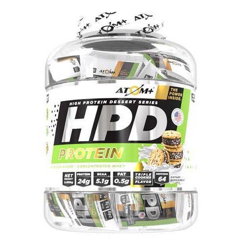 אבקת חלבון אטום HPD בטעם טריפל עוגיות