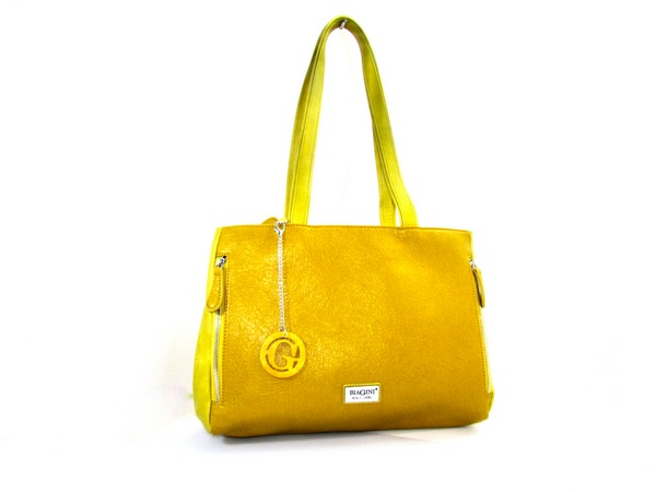 תיק נשים טל צהוב