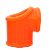 מוצר לעיכוב גמירה ולהחזקת זקפה מסילקון גמיש כתום