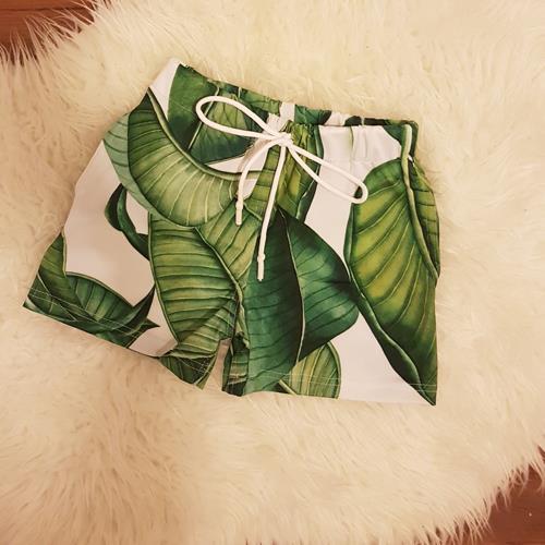 מכנס לילד ירוק עלים