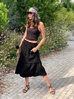 חצאית מידי שחורה