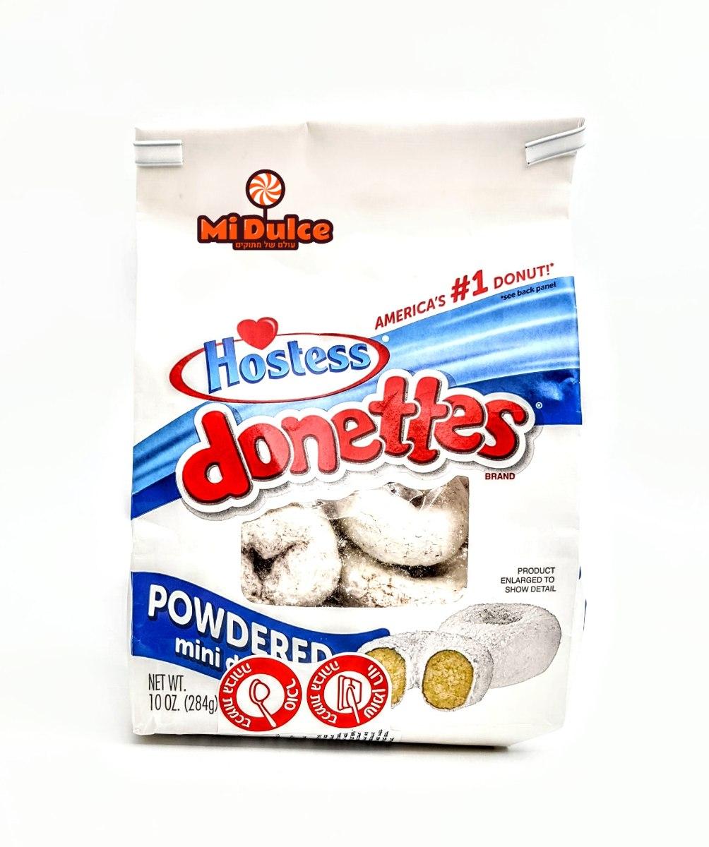 Hostess,Powdered Donettes