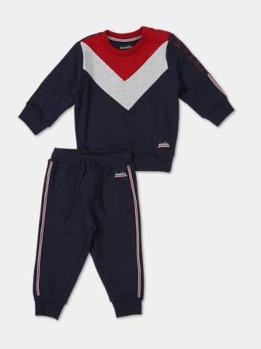 חליפת פוטר כחול/אדום diadora תינוקות - 6 עד 24 חודשים