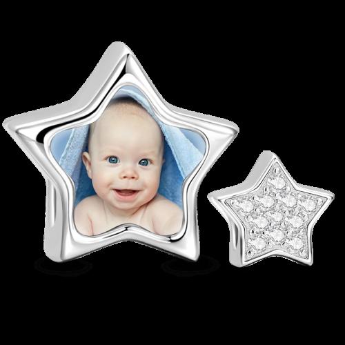 צ'ארמ כוכב עם תמונה