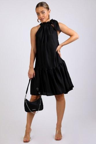 שמלת מידי קים לערב שחור