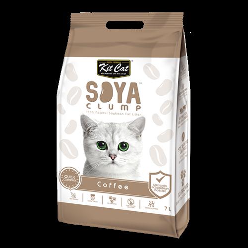 חול חתולים סויה בניחוח קפה 7 ליטר
