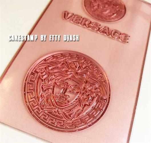VERSACE -Set Of 2 Stamps