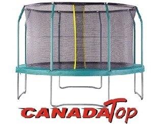 טרמפולינה 2.44 (8 פיט) קנדה טופ+סולם