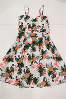 שמלת שיר הדפס אננס