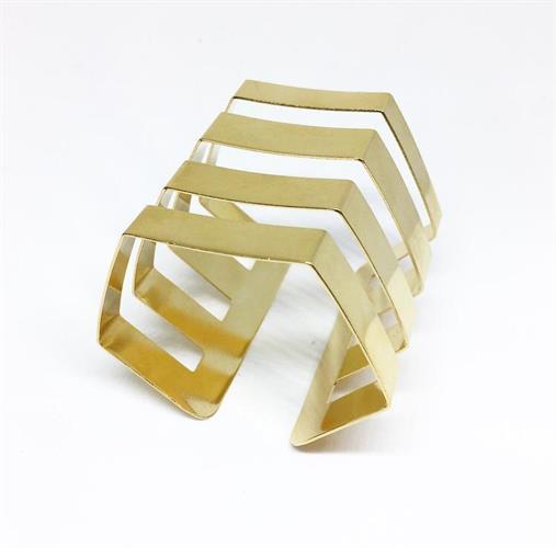 צמיד דומיניק זהב