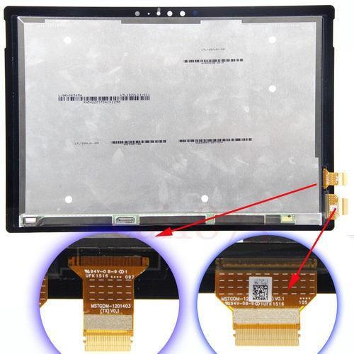 תיקון והחלפת מסך מגע מיקרוסופט Microsoft Surface pro 4