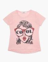 חולצה בנות טריקו מעוצבת COOL