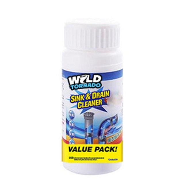 Wild Tornado - החומר שינקה לכם את הצנרת בבית