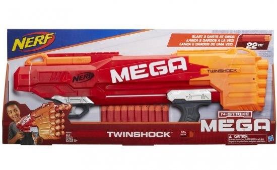 רובה  נרף  NERF TWINSHOCK B9894