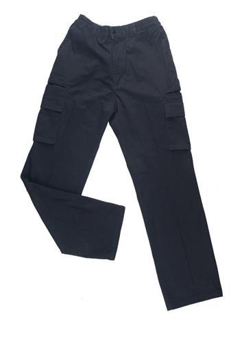 """מכנס דגמ""""ח חצי גומי 8 כיס"""