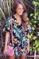 אוברול מעטפת עלים הוואי
