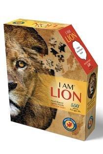 פאזל מיוחד אריה  550 חל